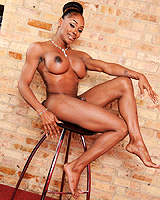 Natalia coxxx hall pass. Chocolate beauty Natalia strips & poses