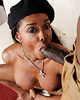 Natalia cock sucking bbc boy toy. Natalia blowing big black cocks